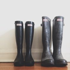 If I ever live in a rainy place, I want to splurge on boots.
