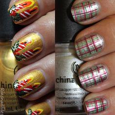 Cute & Easy Christmas Nail Art Designs & Ideas 2013/ 2014 | Girlshue