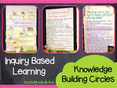 Inquiry based learning is a great approach to teaching and learning that engages students and fosters critical thinking!