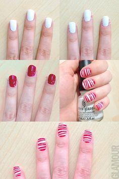 Paso a paso: El nail art perfecto para Navidad
