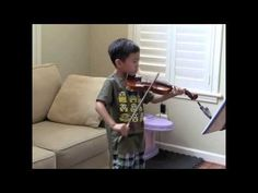 From Twinkle to Concerto; performed Twinkle [two years ago with his sister] and I. Fast forward 2 years, [he] still enjoys playing the violin but learning Concertos instead. See more of young violinist #son_from_vivlum