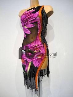 Latin dress worn by Anna Matus