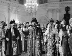 The emperor nicholas ll and his wife empress alexandra at the 1903 fancy dress ball at the winter palace.