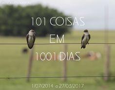 Projeto 101 coisas em 1001 dias! http://www.jadeamorim.com/2014/07/lista-101-coisas-em-1001-dias.html