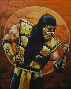 Mortal Kombat 1, Scorpion Mortal Kombat, Mortal Kombat Ultimate, Mortal Kombat X Wallpapers, Claude Van Damme, Marvel Drawings, Video Game Art, Cultura Pop, Street Fighter