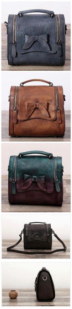Leather Satchel Bag Doctor Bag Messenger Shoulder Bag We use genuine cow  leather a3415c752e4