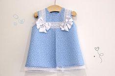 DIY Costura: Cómo hacer vestido para niñas con lazos (patrones gratis) | Manualidades