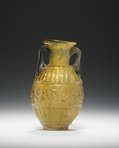 Amphoriskos, Roman, 1st century, Glass, 7 cm (2 3/4 in.)