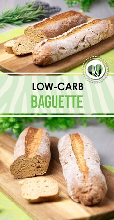 The low carb baguette is gluten-free and delicious. It goes perfectly with dinner, a salad or as a sandwich. The low carb baguette is gluten-free and delicious. It goes perfectly with dinner, a salad or as a sandwich. Gourmet Sandwiches, Healthy Sandwiches, Sandwich Recipes, Bread Recipes, Low Carb Bread, Keto Bread, Bread Food, Low Carb Breakfast, Breakfast Recipes