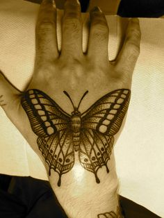 butterfly by Lyam Sparkes
