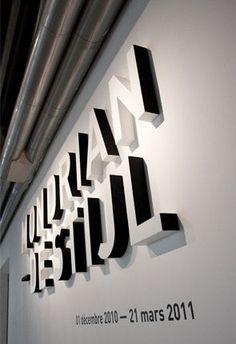 Signage inspiration for Meggan Johnson's Exploration of Dots design
