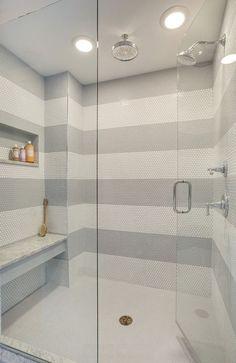 Image result for tile stripe shower
