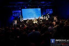 Das Elevate Festival 2015 ist eröffnet  Dom im Berg Graz 22. Oktober 2015 Das längst international renommierte interdisziplinäre #Festival für #Musik, #Kunst und #politischen #Diskurs, #Elevate, eröffnete am Donnerstagabend mit einem Ausblick auf die Programm-Highlights der nächsten Tage