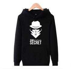 Team secret hoodie for men Dota 2 XXXL hooded sweatshirts