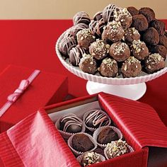 DIY Valentine's Day Gifts: Classic Chocolate Truffles