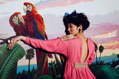 Bird of Paradise by Julia Galdo, via Behance People Photography, Art Photography, Fashion Photography, Editorial, Feather Fashion, Parrot Bird, Cockatoo, Partners In Crime, Some Pictures
