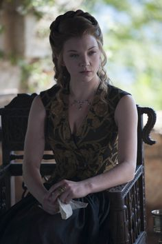 Game of Thrones Margaery Tyrell black and gold dress season 5 custom made to…