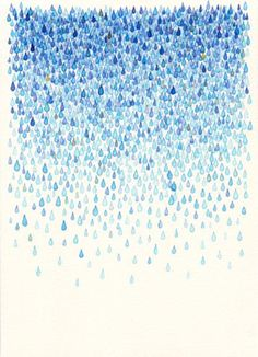 """Reminds me of """"Drip, drip, drop  Little April shower  What can compare  To your beautiful sound"""" from Bambi."""