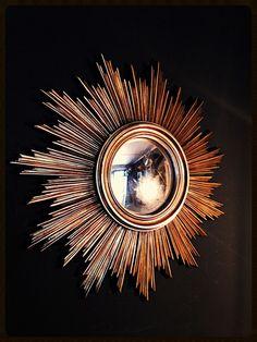 ... miroir soleil miroir vintage ancienne decoration vintage ancien miroir