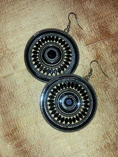 Byzantine Disc Earrings | eBay