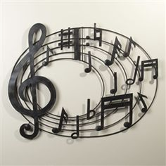 Circle of Music Wall Sculpture