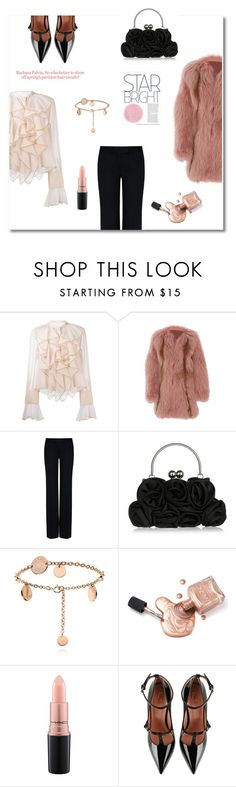 """♥"" by macopa ❤ liked on Polyvore featuring See by Chloé, J. Mendel, STELLA McCARTNEY, MAC Cosmetics and RED Valentino"