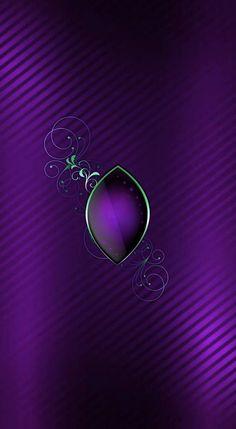 Purple Love, Bright Purple, All Things Purple, Purple Rain, Shades Of Purple, Green And Purple, Deep Purple, Phone Background Wallpaper, Heart Wallpaper