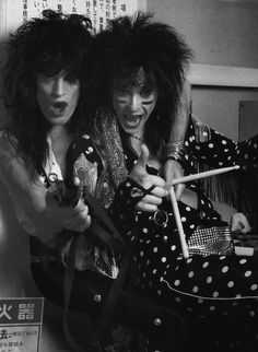 Motley Crue, Tommy and Nikki