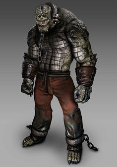 View an image titled 'Killer Croc Render' in our Batman: Arkham Asylum art gallery featuring official character designs, concept art, and promo pictures. Batman Arkham Games, Batman Arkham Series, Batman Arkham Asylum, Arkham City, Im Batman, Batman Art, Superman, Gotham, Dc Comics