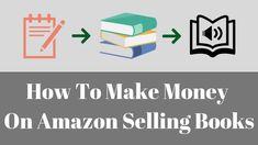 How To Make Money On Amazon Selling Books | Amazon Selling Books | Super... Sell Books On Amazon, Make Money On Amazon, Make Money Online, How To Make Money, Take Money, Amazon Fba, Everybody Else, Online Work, Helping Others