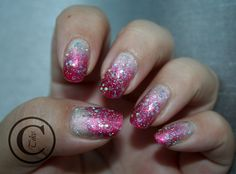 Thulian In Wonderland: Glitter gradient