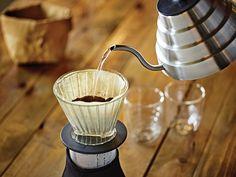 Suport filtru cafea QDO, Ø cm V60 Coffee, Coffee Maker, Kitchen Appliances, Modern, Bamboo, Coffee Maker Machine, Diy Kitchen Appliances, Coffee Percolator, Home Appliances