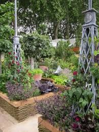 'Pretty Productivity' – The M & G Garden by Bunny Guinness at RHS Chelsea Flower Show 2011 : Garden Designers Bristol, Bath and Beyond Bath And Beyond, Chelsea Flower Show, Guinness, Bristol, Vegetable Garden, Centerpieces, Bunny, Landscape, Pretty