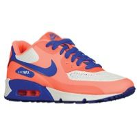 Nike Air Max 90 - Women's - Orange / Off-White