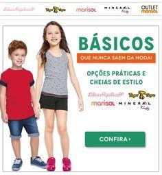 Promoção Posthaus peças básicas infantis com até 50% desconto  – Lilica & Tigor, Marisol e outras marcas http://hcompras.com/promocao-posthaus-pecas-basicas-infantis-lilica-tigor-com-50-desconto/
