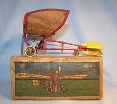 1905 EPL Lehmann Ikarus Airplane in Original Box