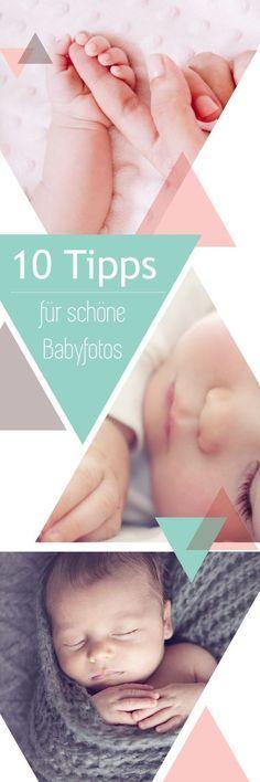 Die wichtigsten Motive und weitere tolle Ideen für unvergessliche Babyshootings - die Zeit vergeht soooo schnell!