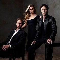 True Blood: Eric, Sookie, and Bill