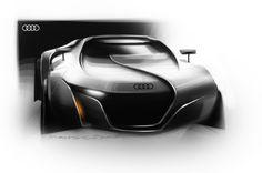 Audi Concept Sketch, student Manuel Schöttle 2010