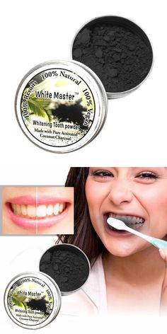 [Visit to Buy] Teeth Whitening Powder Natural Organic Activated Charcoal Bamboo Toothpaste Plaque Tartar Removal Coffee Stains Dropshipping #Advertisement