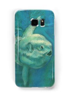 """Sunfish / Mola Mola"" Samsung Galaxy Cases & Skins by clipsocallipso | Redbubble"