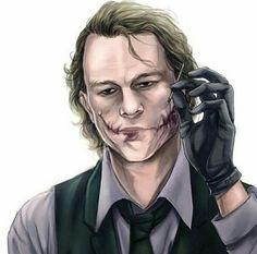 Heath ledger the joker was an Australian actor, Ledger played the Joker in Christopher Nolan's 2008 film The Dark Knight. Joker Batman, Heath Ledger Joker, Comic Del Joker, Superman, Batman Robin, Joker Cartoon, Gotham Batman, Batman Art, Batgirl