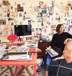 Jenna Lyons in her office