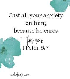 He cares for you.