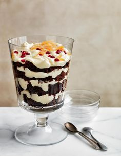 ... and White Chocolate Mousse Trifle Recipe | http://aol.it/1nJMU3B