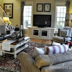 Family Room Reveal - Making What You Have Work