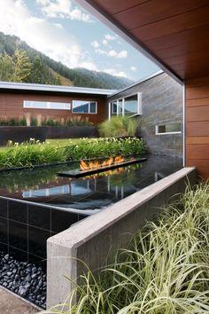 Tatami mat floor japan zen garden pinterest - Maison edge aspen studio b ...