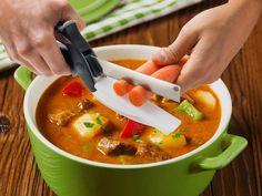 :) KitchPro Smart Cutter Skær grønsagerne til suppen eller pølsen til gryderetten i skiver på nul komma fem! :)