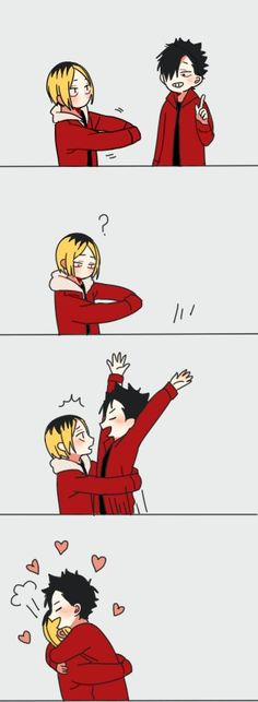 ||Haikyuu!!|| kenma reassessing his life while staring into the gap in his arms is my life lmao
