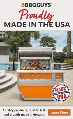 Shop our wide assortment of outdoor products made in the USA. Including grills, smokers, patio furniture and more!